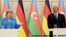 Angela Merkel un Baku