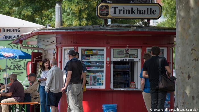 A kiosk in Frankfurt (picture-alliance/dpa/B. Roessler)
