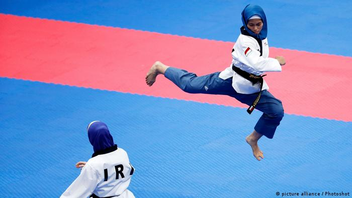 2018 Asian Games Defia Rosmaniar (picture alliance / Photoshot)