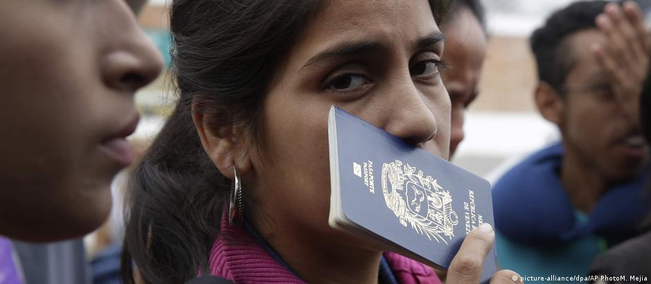 Βενεζουελανοί καταφεύγουν στην Ισπανία