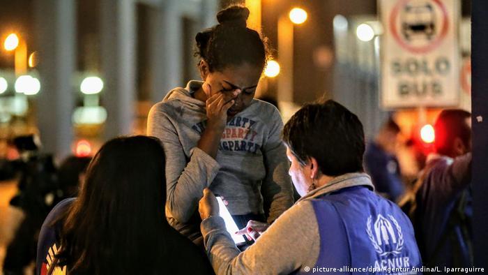 Eine Frau weint (Foto: picture-alliance)