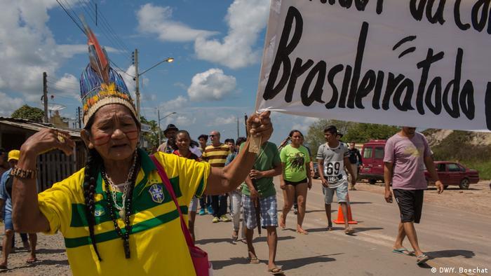 Brasilien Flüchtlinge aus Venezuela (DW/Y. Boechat)
