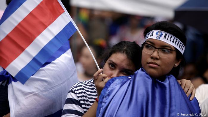 Costa Rica Marsch gegen Fremdenfeindlichkeit in San Jose (Reuters/J.-C. Ulate)