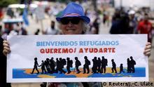 Costa Rica Marsch gegen Fremdenfeindlichkeit in San Jose
