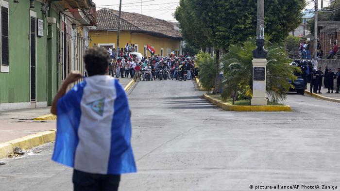 Nicaragua Proteste halten an
