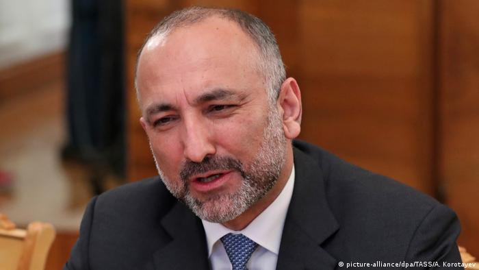 Afghanistan Sicherheitsspitze tritt zurück | Nationaler Sicherheitsberater Mohammad Hanif Atmar (picture-alliance/dpa/TASS/A. Korotayev)