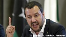 Italien Innenminister Matteo Salvini
