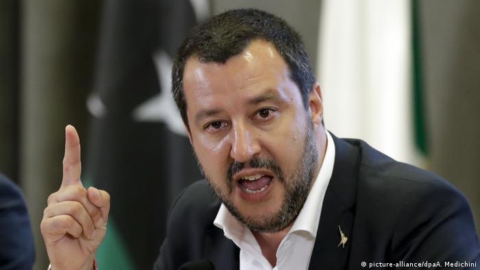 Italien Innenminister Matteo Salvini (picture-alliance/dpaA. Medichini)