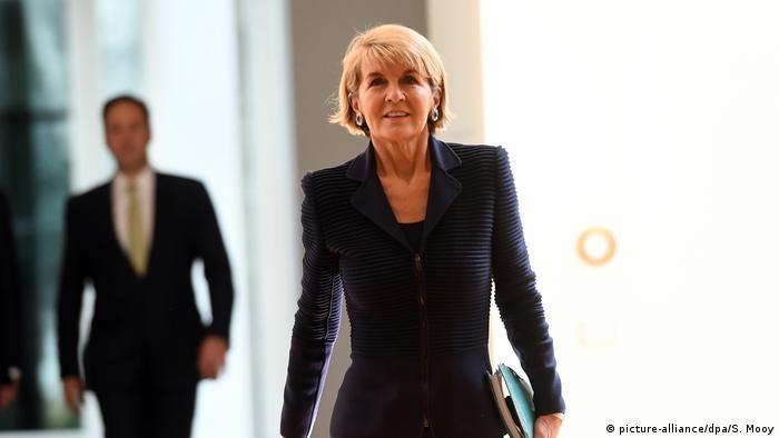 Australien Außenministerin Julie Bishop Rücktrtt (picture-alliance/dpa/S. Mooy)