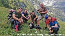 Team Nationalpark Berchtesgaden rettet Hund Barry am Königssee