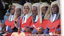 Simbabwe Amtseinführung nach Präsidentenwahl