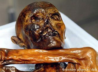 Corpo de Ötzi foi encontrado congelado nos Alpes tiroleses em 1991