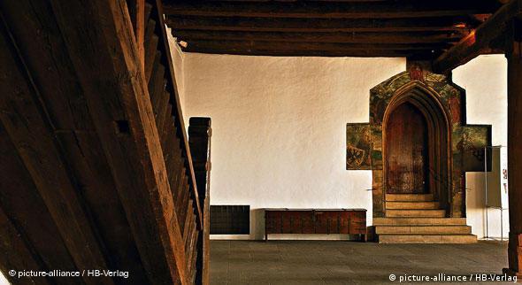 Рыцарский зал (Rittersaal) Императорского замка - Кайзербурга