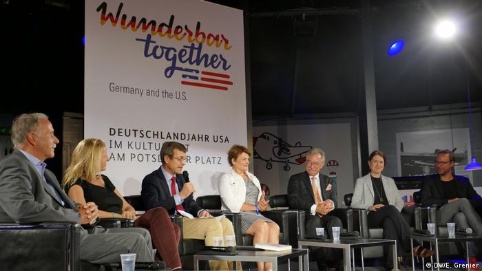 Paneldiskussion Wunderbar together in Berlin (DW/E. Grenier )