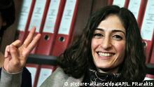 Mesale Tolu, Journalistin, (picture-alliance/dpa/AP/L. Pitarakis)