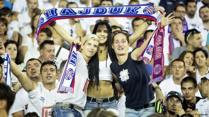 Navijačice Hajduka