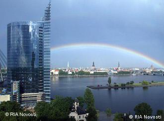 Blick auf die lettische Hauptstadt Riga (Foto: RIA Novosti)