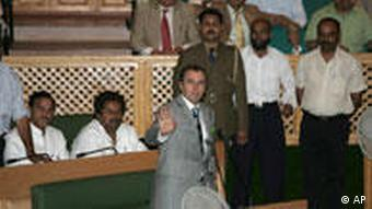 Chief Minister Omar Abdullah in a fix