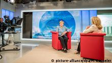 Angela Merkel im ARD-Sommer Interview