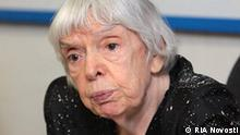 Head of the Moscow Helsinki Group Lyudmila Alekseyeva attending a press conference on the current situation in the Russian republic of Ingushetia. Foto RIA Novosti Juli 2009