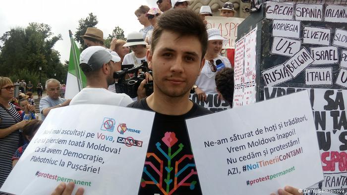 Moldova Proteste Chisinau