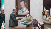 Syrien   Irans Verteidigungsminister zu Besuch in Damaskus