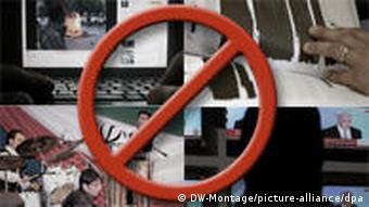 Symbolbild Zensur im Iran