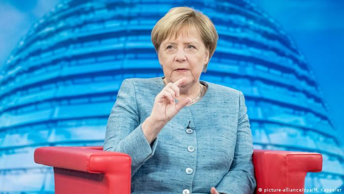 Angela Merkel im ARD-Sommer-Interview