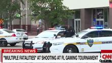 Screenshot CNN -Schießerei in Jacksonville, Florida