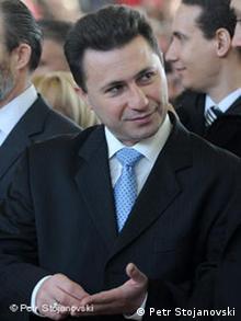 Mazedonischer Ministerpräsident Nikola Gruevski (Foto: DW)