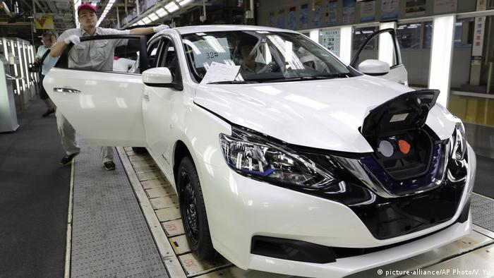 China Nissan Sylphy Zero Emission (picture-alliance/AP Photo/V. Yu)