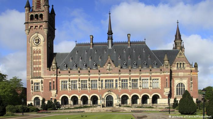Den Haag Internationaler Gerichtshof IGH (picture-alliance/Photoshot)