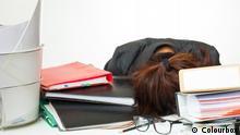 Symbolbild | Stress Arbeit Übermüdung Lernen