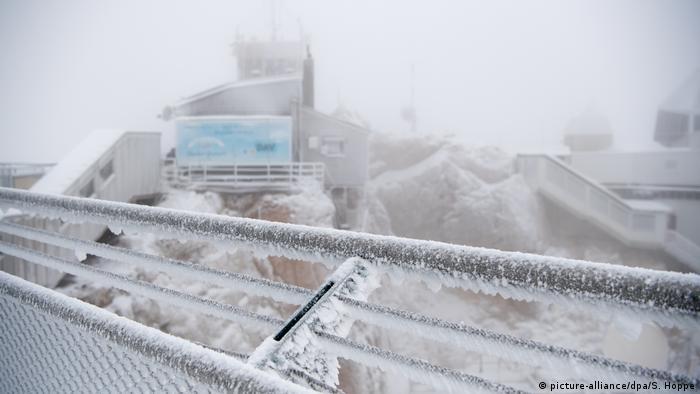 BdT Schnee auf der Zugspitze