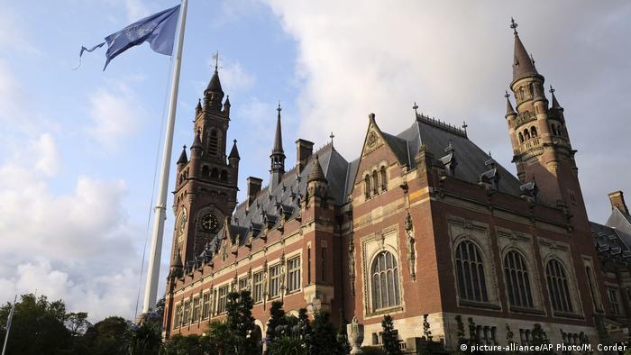 Den Haag Internationaler Gerichtshof tagt zu Iran USA