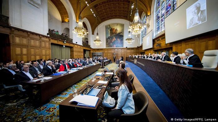 Corte Internacional de Justicia, La Haya, Países Bajos.