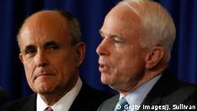 USA - John McCain und Rudy Guiliani