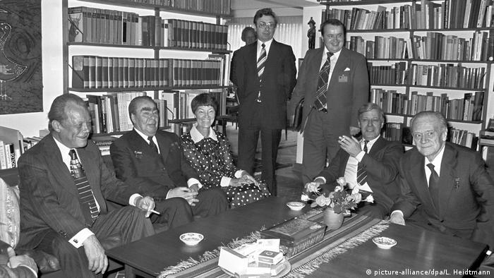 Брежнев в гостях у Шмидтов, 1978 год