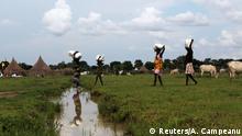 Südsudan Nyal - Binnenflüchtlinge