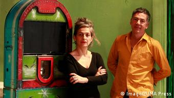 Heidi and Rolf Abderhalden, directors of the Mapa Teatro collective (Imago/ZUMA Press)