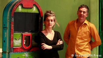 Heidi and Rolf Abderhalden, directors of the Mapa Teatro collective (Imago/ZUMA Press)