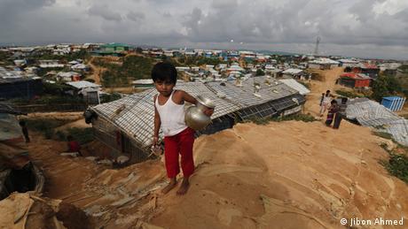 Rohingya-Flüchtlingslager Kutupalong (Jibon Ahmed)