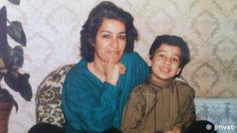Maryam Nouri und ihre Familie (privat)