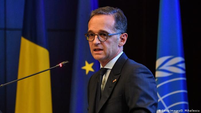 Heiko Maas in Rumänien (Getty Images/D. Mihailescu)