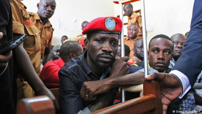 Singer-turned-politician Bobi Wine released on bail by a Gulu courtroom (Getty Images/AFP)