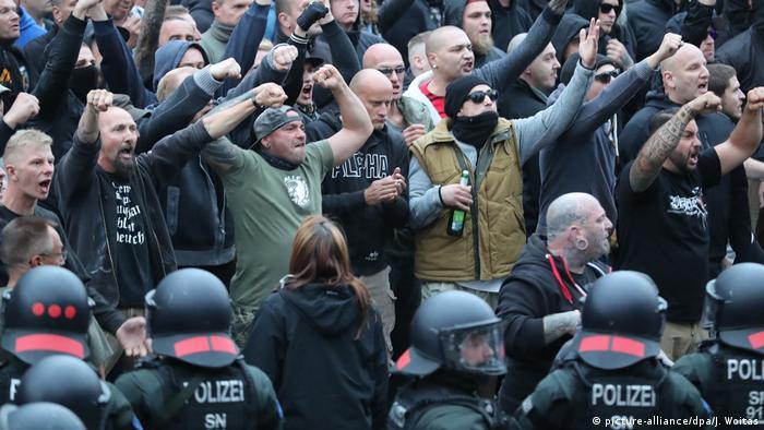 Demonstration Ende August in Chemnitz