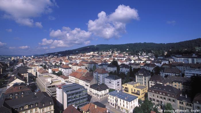 Schweiz, Neuenburg: UNESCO-Weltkulturerbe La Chaux-de-Fonds,