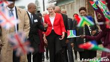 Theresa May in Südafrika