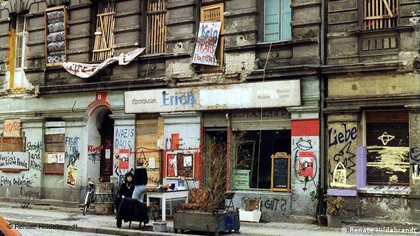 Berlin Majncerštrase, juni 1990.