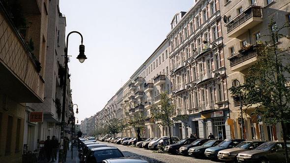 Mainzer Strasse in Berlin in 2006